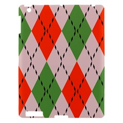 Argyle Pattern Abstract Design Apple Ipad 3/4 Hardshell Case