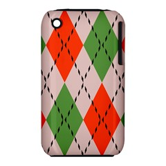 Argyle pattern abstract design Apple iPhone 3G/3GS Hardshell Case (PC+Silicone)