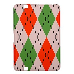 Argyle Pattern Abstract Design Kindle Fire Hd 8 9  Hardshell Case