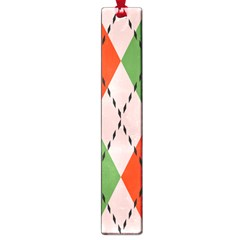 Argyle Pattern Abstract Design Large Book Mark