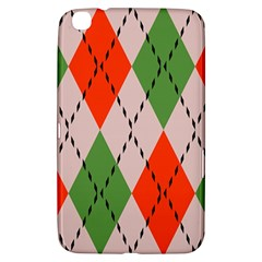 Argyle Pattern Abstract Design Samsung Galaxy Tab 3 (8 ) T3100 Hardshell Case