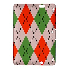 Argyle pattern abstract design Kindle Fire HDX 8.9  Hardshell Case