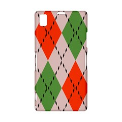Argyle pattern abstract design Sony Xperia Z1 L39H Hardshell Case