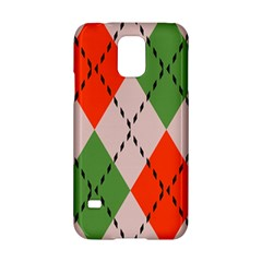 Argyle pattern abstract design Samsung Galaxy S5 Hardshell Case