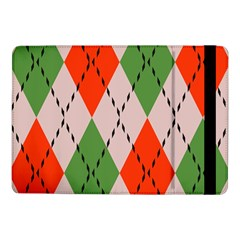 Argyle pattern abstract design Samsung Galaxy Tab Pro 10.1  Flip Case