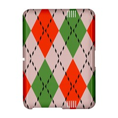 Argyle pattern abstract design Kindle Fire HD Hardshell Case
