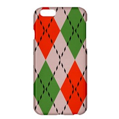 Argyle pattern abstract design Apple iPhone 6 Plus Hardshell Case
