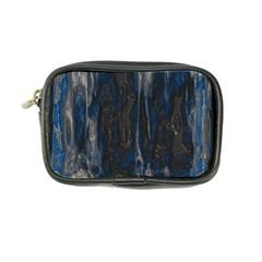 Blue Black Texture Coin Purse