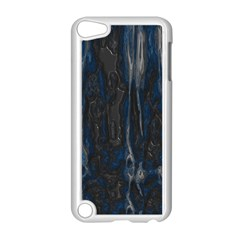 Blue Black Texture Apple Ipod Touch 5 Case (white)