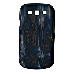 Blue Black Texture Samsung Galaxy S Iii Classic Hardshell Case (pc+silicone)
