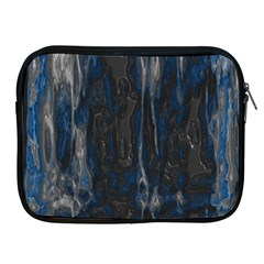 Blue Black Texture Apple Ipad 2/3/4 Zipper Case