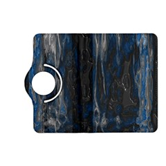 Blue black texture Kindle Fire HD (2013) Flip 360 Case