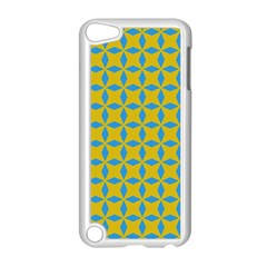 Blue Diamonds Pattern Apple Ipod Touch 5 Case (white)