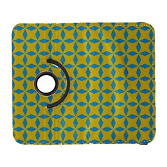 Blue Diamonds Pattern Samsung Galaxy S  Iii Flip 360 Case