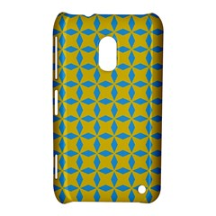 Blue Diamonds Pattern Nokia Lumia 620 Hardshell Case
