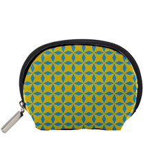 Blue Diamonds Pattern Accessory Pouch (small)