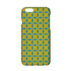 Blue diamonds pattern Apple iPhone 6 Hardshell Case