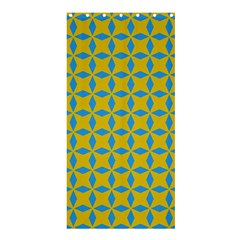 Blue Diamonds Pattern Shower Curtain 36  X 72  (stall)