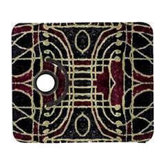 Tribal Style Ornate Grunge Pattern  Samsung Galaxy S  Iii Flip 360 Case