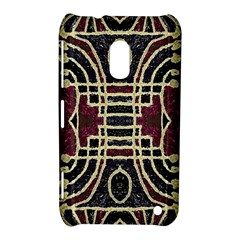 Tribal Style Ornate Grunge Pattern  Nokia Lumia 620 Hardshell Case