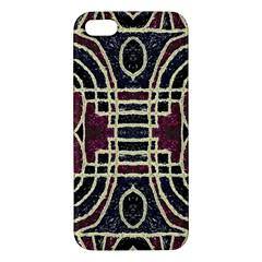 Tribal Style Ornate Grunge Pattern  Iphone 5s Premium Hardshell Case