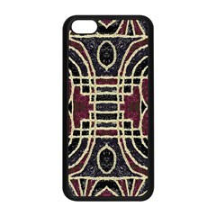 Tribal Style Ornate Grunge Pattern  Apple iPhone 5C Seamless Case (Black)