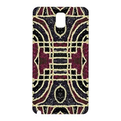 Tribal Style Ornate Grunge Pattern  Samsung Galaxy Note 3 N9005 Hardshell Back Case
