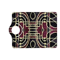 Tribal Style Ornate Grunge Pattern  Kindle Fire Hd (2013) Flip 360 Case
