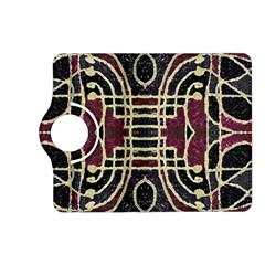 Tribal Style Ornate Grunge Pattern  Kindle Fire HD (2013) Flip 360 Case