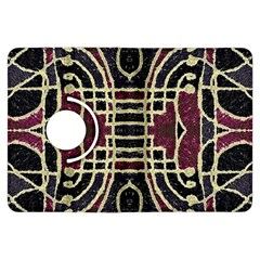 Tribal Style Ornate Grunge Pattern  Kindle Fire HDX Flip 360 Case