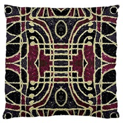 Tribal Style Ornate Grunge Pattern  Standard Flano Cushion Case (One Side)