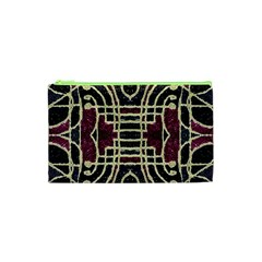 Tribal Style Ornate Grunge Pattern  Cosmetic Bag (XS)
