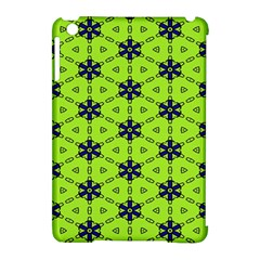 Blue Flowers Pattern Apple Ipad Mini Hardshell Case (compatible With Smart Cover)