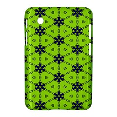 Blue flowers pattern Samsung Galaxy Tab 2 (7 ) P3100 Hardshell Case