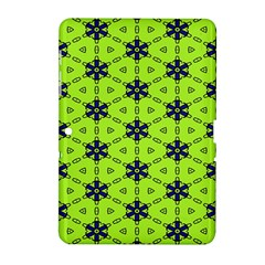 Blue flowers pattern Samsung Galaxy Tab 2 (10.1 ) P5100 Hardshell Case