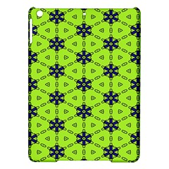 Blue flowers pattern Apple iPad Air Hardshell Case