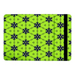 Blue flowers pattern Samsung Galaxy Tab Pro 10.1  Flip Case
