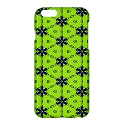 Blue flowers pattern Apple iPhone 6 Plus Hardshell Case