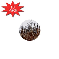 Abstract Of A Cornfield 1  Mini Button (10 Pack)