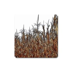 Abstract Of A Cornfield Magnet (square)