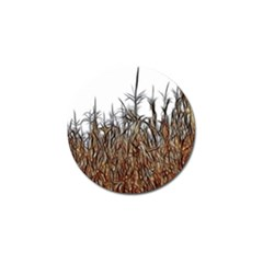 Abstract Of A Cornfield Golf Ball Marker 4 Pack