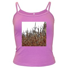Abstract Of A Cornfield Spaghetti Top (colored)