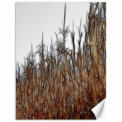 Abstract Of A Cornfield Canvas 18  X 24  (unframed)