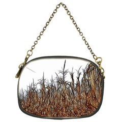 Abstract Of A Cornfield Chain Purse (one Side)