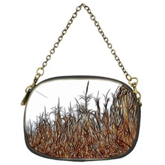 Abstract Of A Cornfield Chain Purse (two Sided)