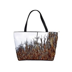 Abstract Of A Cornfield Large Shoulder Bag
