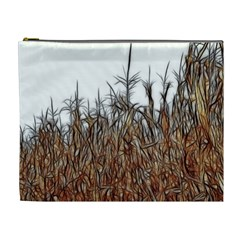 Abstract Of A Cornfield Cosmetic Bag (xl)