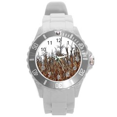 Abstract Of A Cornfield Plastic Sport Watch (large)
