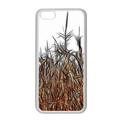 Abstract of a Cornfield Apple iPhone 5C Seamless Case (White)
