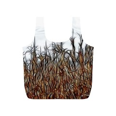 Abstract of a Cornfield Reusable Bag (S)